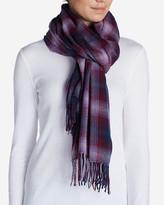 Eddie Bauer Women's Stine's Favorite Flannel Woven Scarf