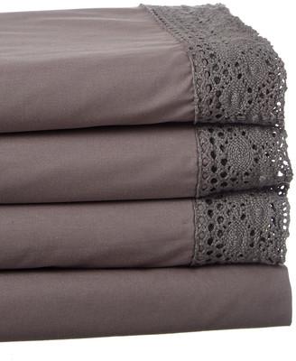Boho Bed Wide Crochet Sheet