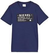Diesel Blue Branded Tee