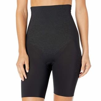 Flexees Women's FitSense High Waist Thigh Slimmer with Lycra DM0072