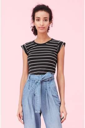 Rebecca Taylor La Vie Yard Dyed Stripe Jersey Tee