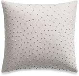 Barbara Barry Sequins Shimmer Oblong Throw Pillow in Silver