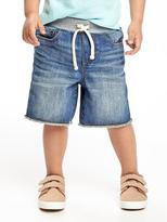 Old Navy Rib-Knit Waist Denim Cut-Offs for Toddler Boys