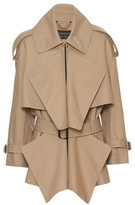 Burberry Short panelled trench coat