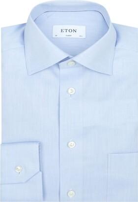 Eton Cotton Twill Pocket Shirt