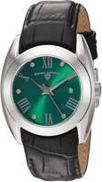 Swiss Legend Women's 'Liberty' Quartz Stainless Steel and Leather Automatic Watch, Color:Black (Model: 10550-08)