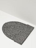 Frank + Oak Fine Knit Cotton Beanie in Medium Grey