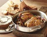 All-Clad Tri-Ply Stainless-Steel Pan Roaster with Domed Lid