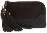 Frye Paige Suede & Leather Wristlet