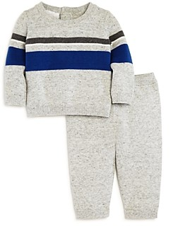 Bloomie's Boys' Striped Sweater & Knit Pants Set, Baby - 100% Exclusive