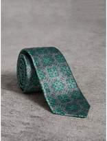Burberry Slim Cut Silk Jacquard Tie