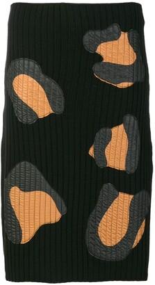 Marco De Vincenzo rib knitted skirt