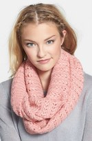 BP Junior Women's Chevron Pointelle Infinity Scarf