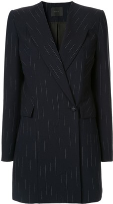 Dion Lee pinstripe blazer dress