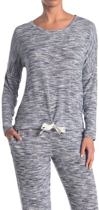 Hue Space Dye Long Sleeve Pajama Shirt