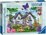 Ravensburger Country Cottage Delphinium Cottage 1000pc Puzzle