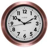 La Crosse Technology Metal Wall Clock in Copper
