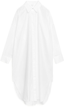 Arket Oversized Shirt Dress