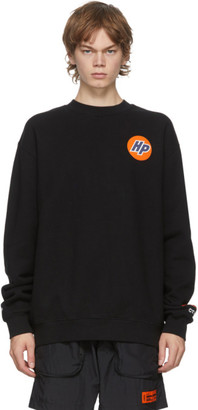 Heron Preston Black Techno Sweatshirt