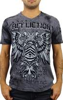 Affliction Coaxial Short Sleeve V-neck T-shirt XXXL
