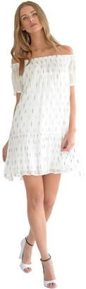 Singer22 Suzie Flocked Lurex Dress