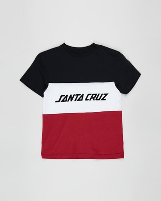 Santa Cruz Stripe Block Tee - Teens
