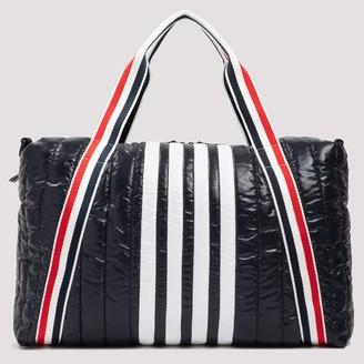 Thom Browne 4-Bar Stripe Tote Bag