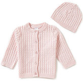 Little Me Baby Girls 3-12 Months Huggable Cable-Knit Sweater