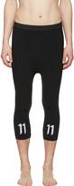 11 By Boris Bidjan Saberi Black Slim Leggings