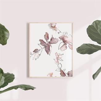 Oilo Wall Art Paper Bella 3 Branch 11 x 14