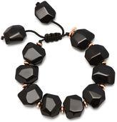Lola Rose Tyler Black Agate Bracelet