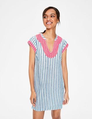 Yasmin Embroidered Linen Tunic