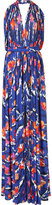Emilio Pucci pleatedmaxi dress - women - Silk/Viscose - 40