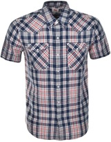 Levi's Levis Barstow Western Check Shirt Blue