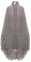 Gabriela Hearst Lauren Tasselled Cashmere Wrap - Womens - Grey