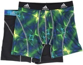 adidas Sport Performance Climalite Graphic 2-Pack Boxer Brief