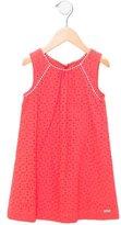 Junior Gaultier Girls' Eyelet A-Line Dress