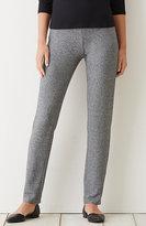 J. Jill Wearever Smooth-Fit Marled Slim-Leg Pants
