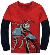 BABYBOX Baby Box Little Boys' kids long sleeve T-Shirts SizeT