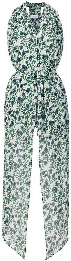 Taava floral halter blouse