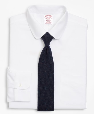 Brooks Brothers BrooksCool Madison Classic-Fit Dress Shirt, Non-Iron Golf Collar
