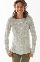 J. Jill Mixed-Cables Sweater