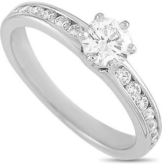 Heritage Tiffany & Co. Tiffany & Co. Platinum 0.54 Ct. Tw. Diamond Engagement Ring