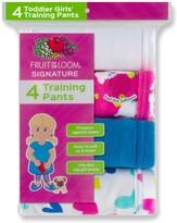Fruit of the Loom Toddler Girl 4-pk. Training Pants