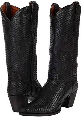 Dan Post Jovi (Black Leather) Women's Boots