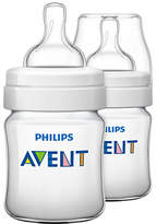Philips Classic Baby Bottle, Pack of 2, 125ml