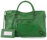 Balenciaga Classic Arena City Bag, Green