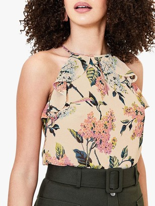 Oasis Blossom Cami Top, Multi Natural