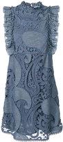 See by Chloe frilled sleeveless dress - women - Cotton/Polyamide/Viscose - 38
