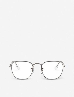 Ray-Ban RX3857V Frank metal square-frame glasses